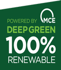 Powered by Deep Green 100% Renewable energy